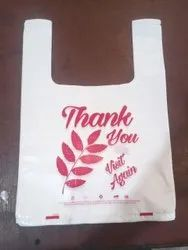 25 micro Thank You Printed Carry Bag, For Shopping