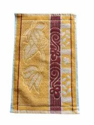 Jacquard 14x21 Inch Mustard Cotton Terry Napkin, Rectangular