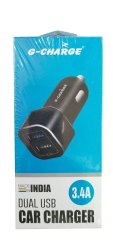 3.4A G-Charge Dual USB Car Charger