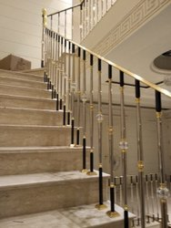 Bar Brass Railing, For Home