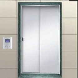 Stainless Steel Side opening Elevator Door, For Home, Telescopic