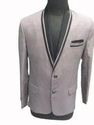 Party Wear Plain Mens Designer Coat, Size: 36-44