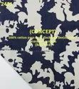 Concept 100% Cotton Yarn Dyed Discharge Denim Print Shirting Fabric