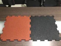 500x500mm Gym Rubber Floor Tiles