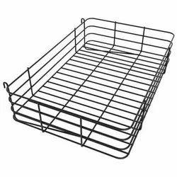 Stainless Steel Metal Grid Basket, For Hotel/Restaurant, Rectangular