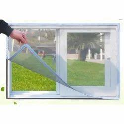 UPVC White Magnetic Mesh Window