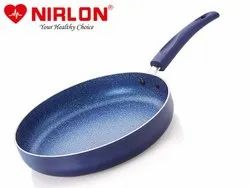 Nirlon Non Stick Fry Pan Bling Induction Base (Without LiD)