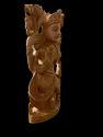 Laxmi Ji Wooden Murti 8 Inch