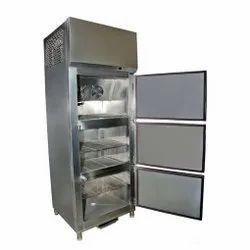 Stainless Steel 3 Door Vertical Refrigerator