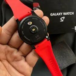 MIC Black Galaxy S Smartwatch Nano Sim Support Touch Screen, 0.5KG