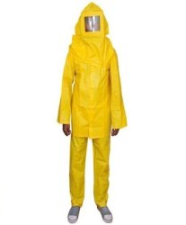yellow PVC Boiler Suit, Size: Free Size