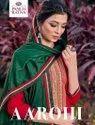 Fancy Cotton Satin Neck Embroidered Ladies Salwar Suit