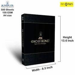 JK Excel Bond Paper A4 - 100 GSM