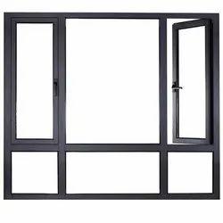 Powder Coated French Windows Aluminium Sliding Doors, For Home, Exterior