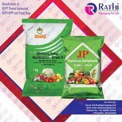 BOPP Micronutrient Fertilizer Bags, Size: 5 Kg To 50 Kg