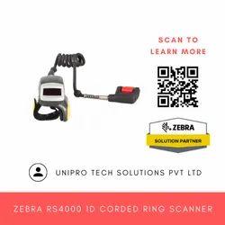 Zebra RS4000 1D Corded Ring Scanner