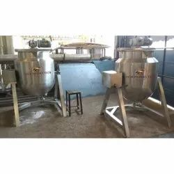 Tilting Paste Kettle Machine