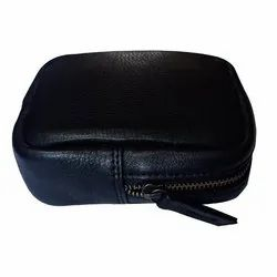 Leather Square Pouch