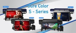 Epson Eco Solvent Printers With New Generation Printhead