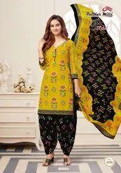 Patidar Mills Cotton Ladies Dress Material