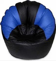Black and Blue Muddha Bean Bag
