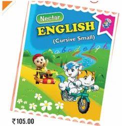 Children Nectar English Cursive Small Writing Book, Ctc