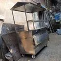 Paani Puri Counter With Roof
