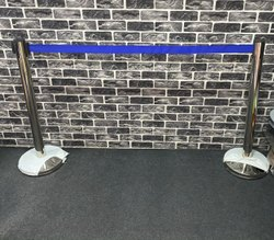 Ss Barricade Stand