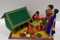 Half Saree Function / Langavoni Function Golu Doll