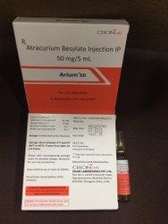 Atracurium Besylate Injection 50mg 5ml