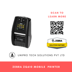 Zebra ZQ610 Mobile Label Printer
