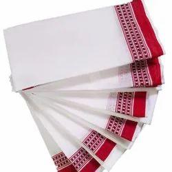 White Samrat Cotton Gamcha, Size: 1.8 Meter