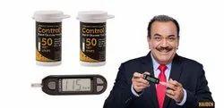 Control D Blood Glucose Test Strips, For Hospital