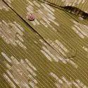 Janasya Men's Green Cotton Kurta(MEN5022)