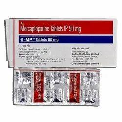 6 Mp Mercaptopurine 50mg Tablets