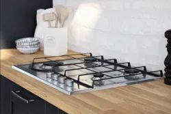 Faber Mild Steel Kitchen Built In Gas Hob, 4