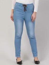 Blue Girls Denim Jeans