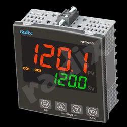 96x96 Mid-range PID Controller, NEX605, Upto 2 Relays