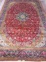 Handmade Knotted Kashmir Silk Carpet
