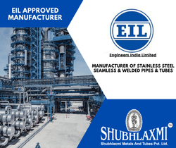 Eil Approved Stainless Steel Pipes