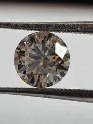 White Diamond, Size: 6.5 mm