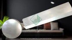 Senyo Striker Metallic High Speed Decorative Ceiling Fan 1200mm / 48 inch (100% Copper) 400 RPM