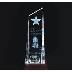 3d Crystal Corporate Award