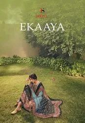 Deepsy Suits Ekaaya Jam Cotton Print With Embroidery Designer Suit Catalog