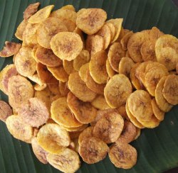 Khandelwal Plain Banana Chips, Refined Oil, Packaging Type: Packet