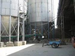 Zincalume Bolted Corrugated Grain Storage Silo