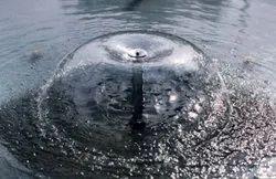 Umbrella fountaion nozzle