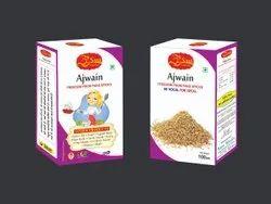 100gm Organic Ajwain, Packaging Type: Packets