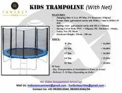 Kids Trampoline With Safety Net