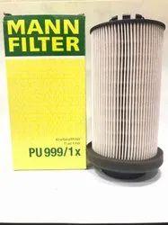 PU999/1X  Mann  Fuel Filter Cartridge